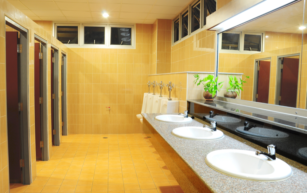 PNW Commercial Cleaning Services:  Importance of Clean & Disinfected Workplace Bathrooms