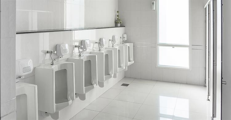 Warehouse Commercial Cleaning - Employee Bathrooms