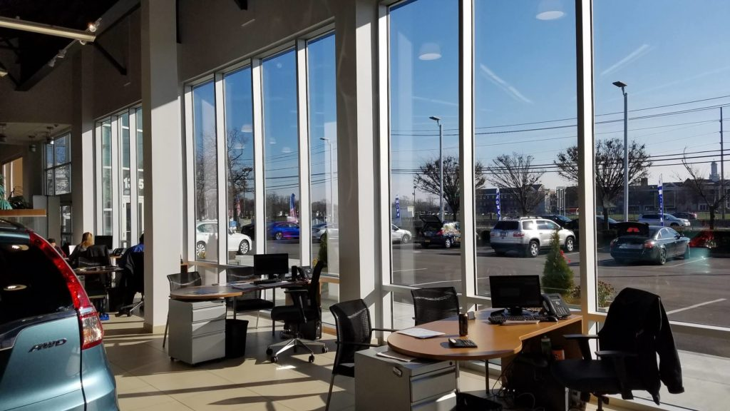 Commercial Window Cleaning Services for Auto Dealerships