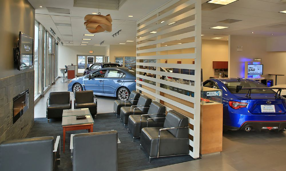 Auto Ddealership Commercial Cleaning Services in the PNW