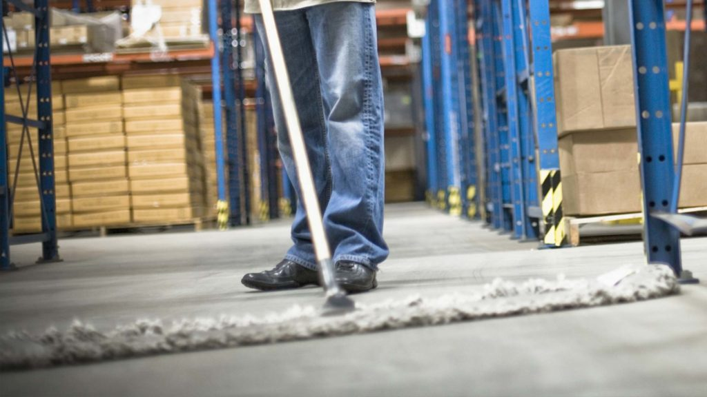 Warehouse Commercial Cleaning - Floors