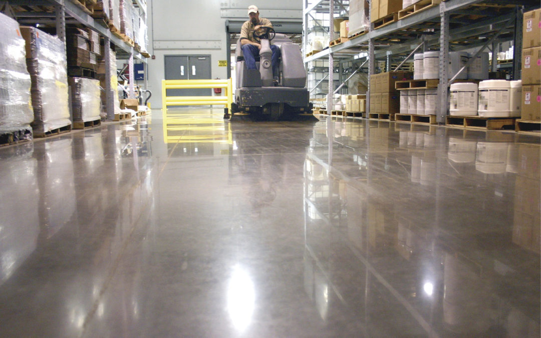 Commercial Floor Cleaning Services for Polished Concrete