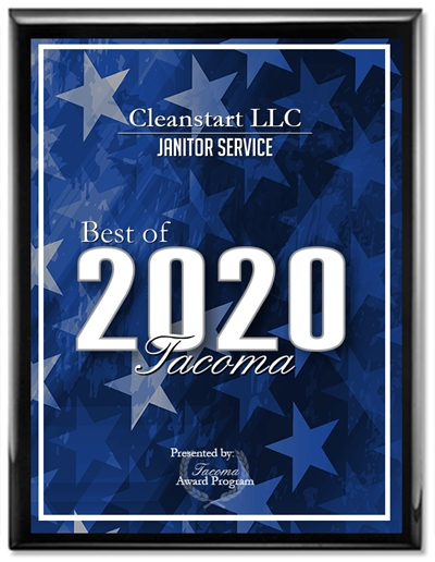 Winner of 2020 Best of Tacoma Award for Janitorial Services!