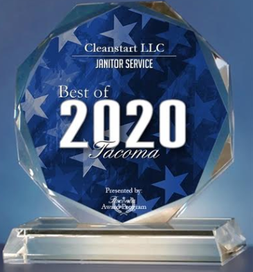 2020 Best of Tacoma Award - Janitorial Service
