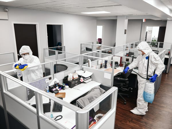 COVID-19 Prevention and Emergency Disinfection Cleaning in The Workplace